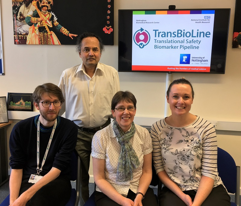 Nottingham Transbioline Team
