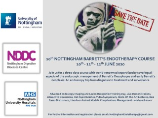 10th Nottingham Barrett's Endotherapy Course