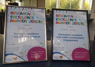 Research and Excellence Awards 2018/19