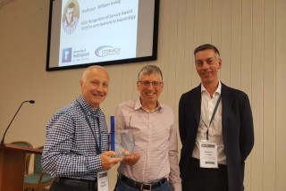 Professor Will Irving receives BASL Recognition of Service Award 2019
